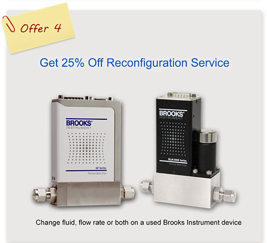 Brooks Instrument Reconfiguration Service University Special Offer