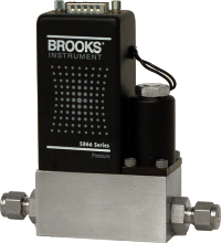 Brooks 5866 metal sealed pressure controller
