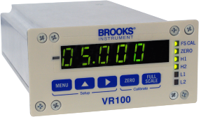 Brooks VR100 Single Channel Power Supply & Display Module