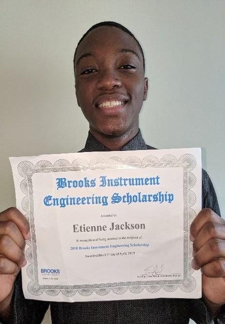 Brooks Instrument 2018 Engineering Scholarship Recipient