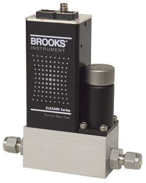 Brooks Instrument SLA5850 Mass Flow Controller with EtherNet/IP
